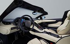 Обои автомобили Lamborghini Aventador S Roadster - 2017
