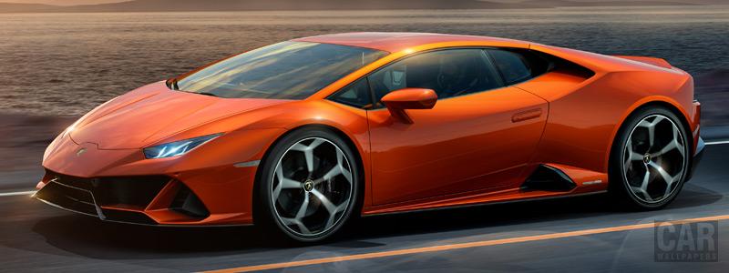 Обои автомобили Lamborghini Huracan EVO - 2019 - Car wallpapers