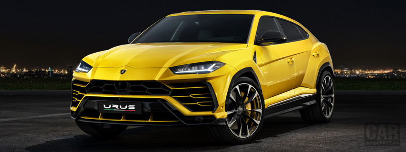 Обои автомобили Lamborghini Urus - 2018 - Car wallpapers