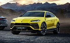 Обои автомобили Lamborghini Urus - 2018