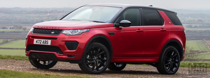 Обои автомобили Land Rover Discovery Sport HSE Si4 Dynamic Lux UK-spec - 2017 - Car wallpapers