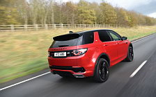 Обои автомобили Land Rover Discovery Sport HSE Si4 Dynamic Lux UK-spec - 2017