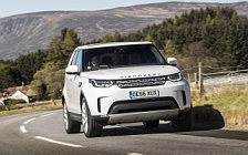 Обои автомобили Land Rover Discovery HSE UK-spec - 2017
