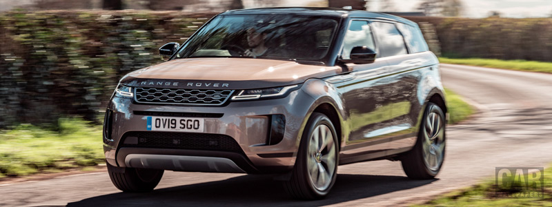 Обои автомобили Range Rover Evoque D240 HSE UK-spec - 2019 - Car wallpapers