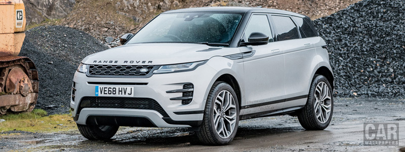 Обои автомобили Range Rover Evoque P300 HSE R-Dynamic Black Pack UK-spec - 2019 - Car wallpapers