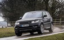 Обои автомобили Range Rover Sport HSE UK-spec - 2017