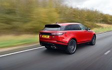 Обои автомобили Range Rover Velar R-Dynamic D300 HSE Black Pack UK-spec - 2017