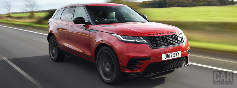 Обои автомобили Range Rover Velar R-Dynamic D300 HSE Black Pack UK-spec - 2017 - Car wallpapers