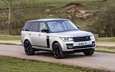Обои автомобили Range Rover Autobiography Black Design Pack UK-spec - 2017