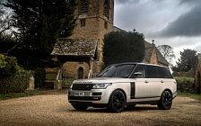 Обои автомобили Range Rover Autobiography Black Design Pack UK-spec - 2017