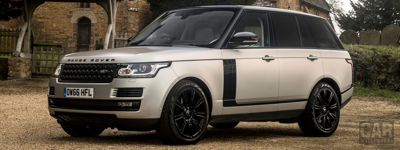 Обои автомобили Range Rover Autobiography Black Design Pack UK-spec - 2017 - Car wallpapers