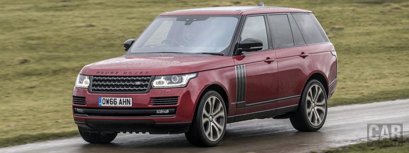 Обои автомобили Range Rover SVAutobiography Dynamic UK-spec - 2017 - Car wallpapers
