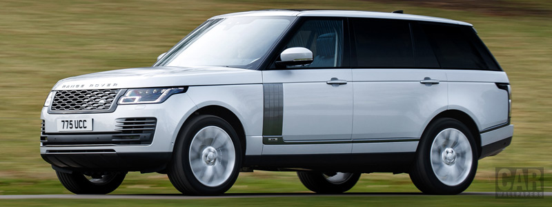 Обои автомобили Range Rover Autobiography P400e LWB UK-spec - 2018 - Car wallpapers