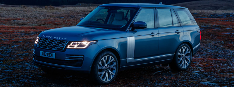 Обои автомобили Range Rover Autobiography P400e UK-spec - 2018 - Car wallpapers