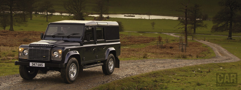 Обои автомобили Land Rover Defender Station Wagon - 2007 - Car wallpapers