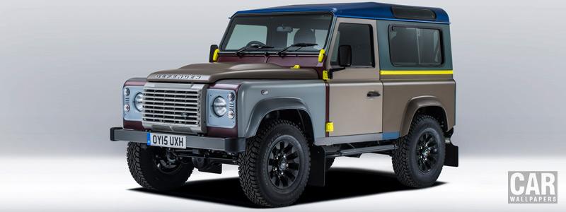 Обои автомобили Land Rover Defender 90 by Paul Smith - 2015 - Car wallpapers