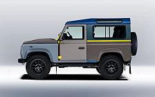 Обои автомобили Land Rover Defender 90 by Paul Smith - 2015