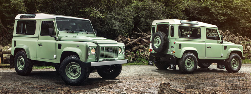 Обои автомобили Land Rover Defender 90 Heritage - 2015 - Car wallpapers