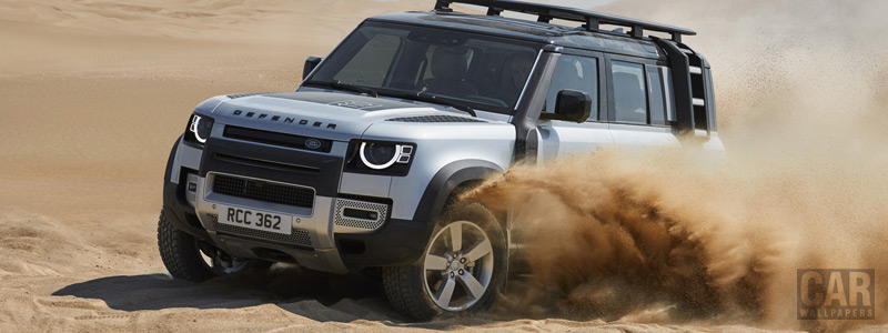 Обои автомобили Land Rover Defender 110 Explorer Pack First Edition - 2020 - Car wallpapers