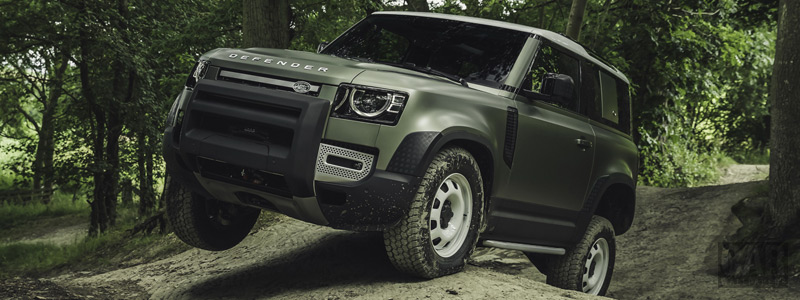 Обои автомобили Land Rover Defender 90 D240 SE Explorer Pack - 2020 - Car wallpapers