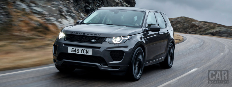 Обои автомобили Land Rover Discovery Sport HSE Si4 Dynamic Lux - 2017 - Car wallpapers