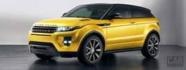 Range Rover Evoque Limited Edition Sicilian Yellow - 2013