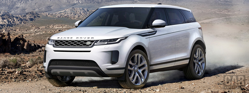 Обои автомобили Range Rover Evoque D240 HSE - 2019 - Car wallpapers