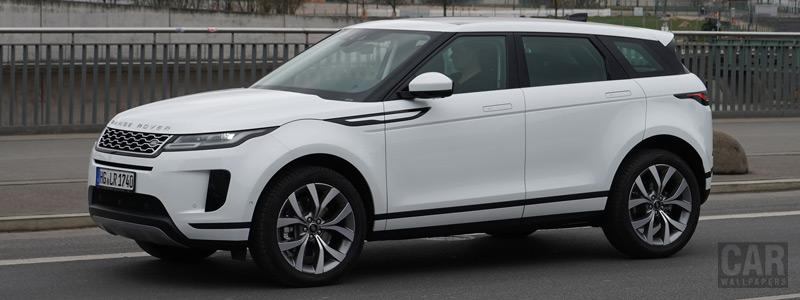 Обои автомобили Range Rover Evoque P250 SE - 2019 - Car wallpapers