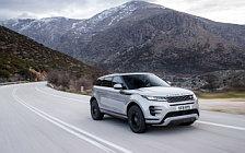 Обои автомобили Range Rover Evoque R-Dynamic (Seoul Pearl Silver) - 2019