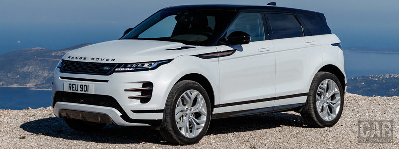 Обои автомобили Range Rover Evoque R-Dynamic (Yulong White) - 2019 - Car wallpapers