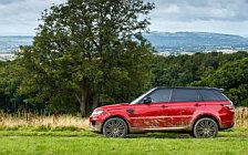 Обои автомобили Range Rover Sport Autobiography - 2017