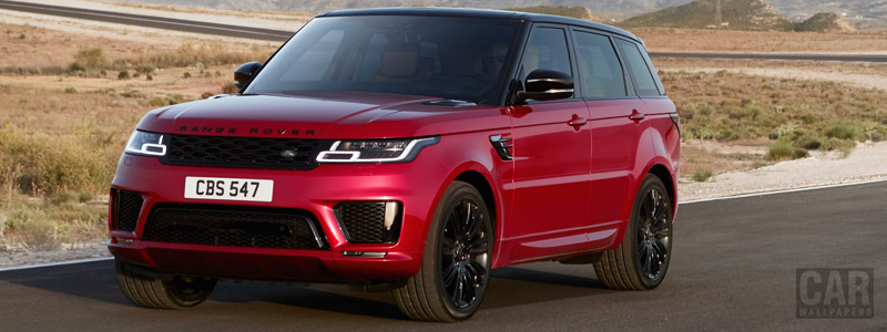 Обои автомобили Range Rover Sport Autobiography - 2017 - Car wallpapers