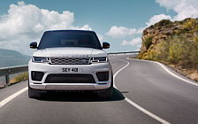 Обои автомобили Range Rover Sport P400e Autobiography - 2017