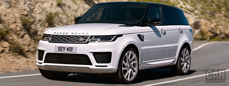 Обои автомобили Range Rover Sport P400e Autobiography - 2017 - Car wallpapers