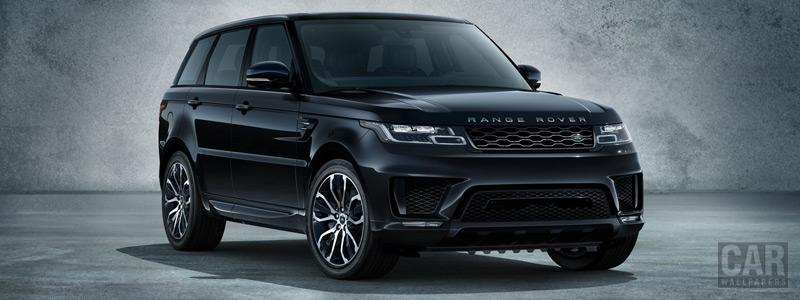 Обои автомобили Range Rover Sport Shadow Edition - 2018 - Car wallpapers