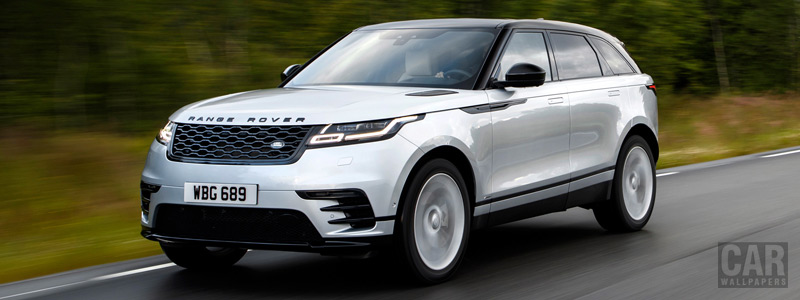Обои автомобили Range Rover Velar R-Dynamic D300 HSE Black Pack - 2017 - Car wallpapers