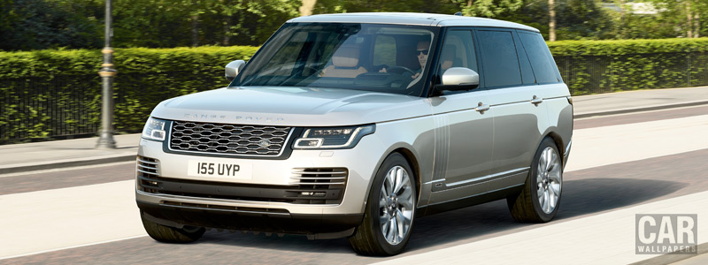 Обои автомобили Range Rover Autobiography P400e LWB - 2017 - Car wallpapers
