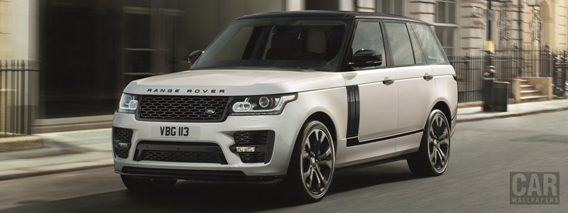 Обои автомобили Range Rover SVO Design Pack - 2017 - Car wallpapers