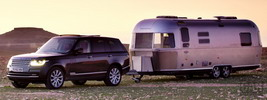 Land Rover Range Rover and Airstream - 2013