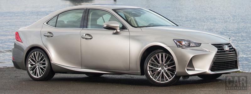 Обои автомобили Lexus IS 300 AWD CA-spec - 2017 - Car wallpapers