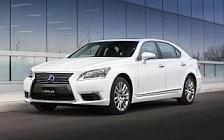 Обои автомобили Lexus LS 600h L CA-spec - 2013