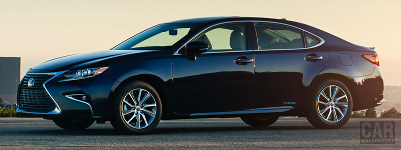 Обои автомобили Lexus ES 300h US-spec - 2015 - Car wallpapers