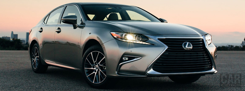 Обои автомобили Lexus ES 350 US-spec - 2015 - Car wallpapers