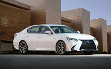 Обои автомобили Lexus GS 450h F SPORT US-spec - 2016