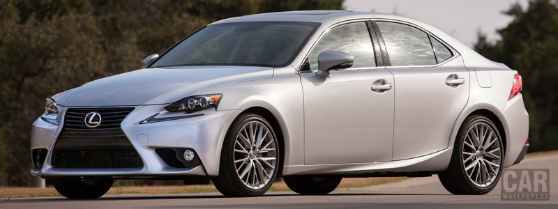 Обои автомобили Lexus IS 250 US-spec - 2013 - Car wallpapers