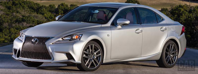 Обои автомобили Lexus IS 350 F SPORT US-spec - 2013 - Car wallpapers