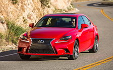 Обои автомобили Lexus IS 200t F SPORT US-spec - 2015