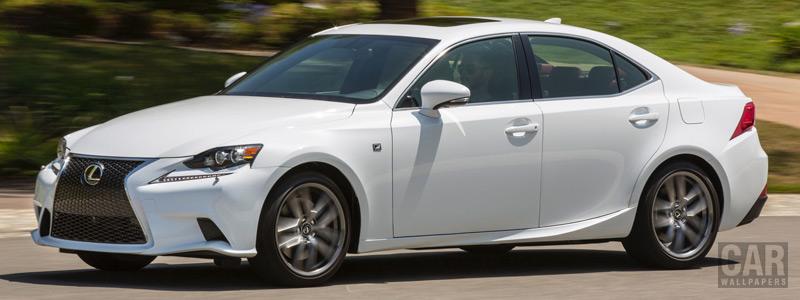 Обои автомобили Lexus IS 300 AWD F SPORT US-spec - 2015 - Car wallpapers