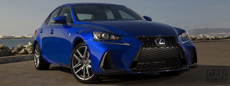 Обои автомобили Lexus IS 350 AWD F SPORT US-spec - 2016 - Car wallpapers