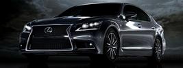 Lexus LS460 F Sport US-spec - 2013